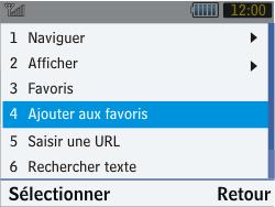 Samsung S3570 Chat 357 - Internet - Navigation sur Internet - Étape 7