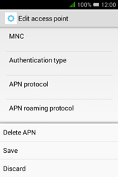 Alcatel Pixi 3 (3.5) - MMS - Manual configuration - Step 16