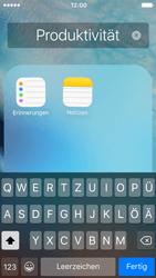 Apple iPhone 5c iOS 9 - Startanleitung - Personalisieren der Startseite - Schritt 6