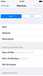 Apple iPhone SE - iOS 10 - E-mail - Configuration manuelle - Étape 12