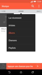 HTC Desire 816 - Photos, vidéos, musique - Ecouter de la musique - Étape 6