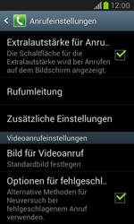 Samsung I8190 Galaxy S3 Mini - Anrufe - Rufumleitungen setzen und löschen - Schritt 5