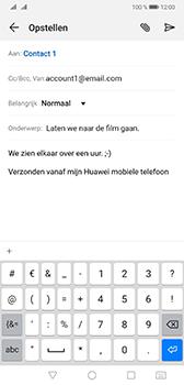 Huawei Mate 20 - E-mail - e-mail versturen - Stap 8