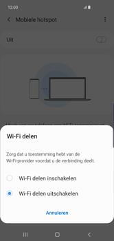Samsung Galaxy S10 Plus - Internet - Stel mobiele hotspot in - Stap 7