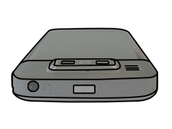 Nokia E72 - SIM-Karte - Einlegen - Schritt 6