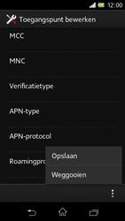 Sony C1905 Xperia M - Internet - handmatig instellen - Stap 19