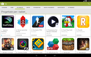Sony Xperia Tablet Z2 LTE - Applicazioni - Installazione delle applicazioni - Fase 7