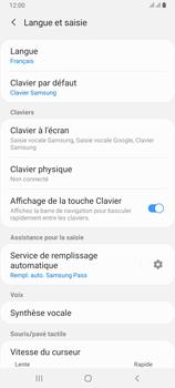 Samsung Galaxy A80 - Prise en main - Comment ajouter une langue de clavier - Étape 6