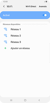Samsung Galaxy S9 Plus - Android Pie - Wifi - configuration manuelle - Étape 6