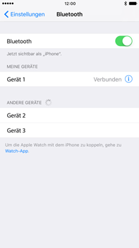 Apple iPhone 6 Plus - Bluetooth - Geräte koppeln - 8 / 9