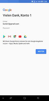 Samsung Galaxy A8 Plus (2018) - Apps - Konto anlegen und einrichten - 16 / 19