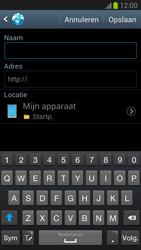 Samsung N7100 Galaxy Note II - Internet - Internetten - Stap 8