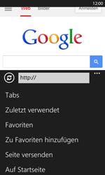 Nokia Lumia 1020 - Internet und Datenroaming - Verwenden des Internets - Schritt 11