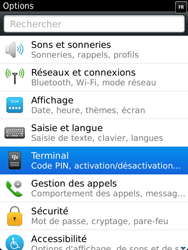 BlackBerry 9810 Torch - BlackBerry activation - BlackBerry ID activation - Étape 4