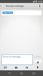 Sony Xpéria Z1 - Contact, Appels, SMS/MMS - Envoyer un MMS - Étape 11