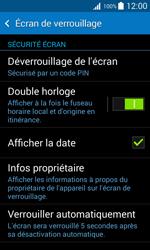 Samsung Galaxy Trend 2 Lite - Sécuriser votre mobile - Activer le code de verrouillage - Étape 11