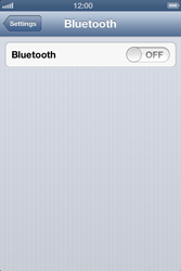 Apple iPhone 4S - Bluetooth - Connecting devices - Step 6