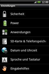 HTC Wildfire S - Fehlerbehebung - Handy zurücksetzen - 0 / 0