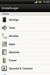 HTC A320e Desire C - Fehlerbehebung - Handy zurücksetzen - Schritt 6