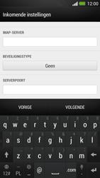 HTC One - E-mail - Account instellen (IMAP met SMTP-verificatie) - Stap 10
