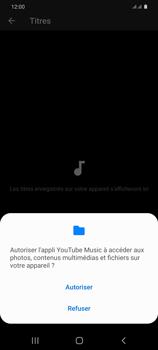 Samsung Galaxy S20+ - Photos, vidéos, musique - Ecouter de la musique - Étape 7