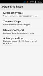 Acer Liquid Z520 - Messagerie vocale - configuration manuelle - Étape 7