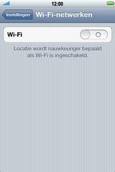 Apple iPhone 3G S met iOS 5 - wifi - handmatig instellen - stap 4