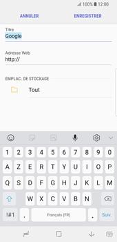 Samsung Galaxy S9 - Internet et connexion - Naviguer sur internet - Étape 9
