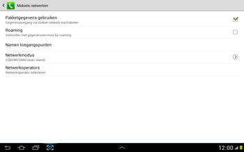 Samsung N8000 Galaxy Note 10-1 - Internet - aan- of uitzetten - Stap 6