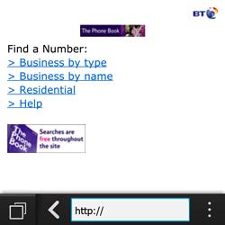 BlackBerry Q10 - Internet - Internet browsing - Step 11