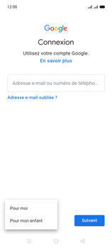 Oppo A15 - Applications - Créer un compte - Étape 6