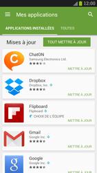 Samsung Galaxy S III LTE - Applications - Comment vérifier les mises à jour des applications - Étape 6