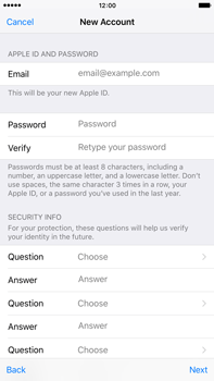 Apple iPhone 6 Plus iOS 9 - Applications - Setting up the application store - Step 12