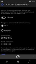 Microsoft Lumia 650 - Internet et connexion - Partager votre connexion en Wi-Fi - Étape 6