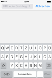 Apple iPhone 4S iOS 7 - Internet und Datenroaming - Verwenden des Internets - Schritt 5