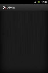 Sony ST23i Xperia Miro - MMS - handmatig instellen - Stap 7
