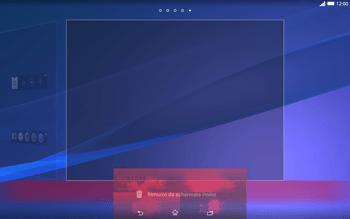Sony Xperia Tablet Z2 LTE - Operazioni iniziali - Installazione di widget e applicazioni nella schermata iniziale - Fase 10