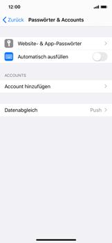 Apple iPhone X - iOS 13 - E-Mail - 032c. Email wizard - Outlook - Schritt 4