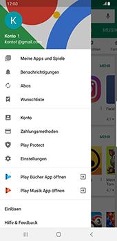 Samsung Galaxy S9 Plus - Android Pie - Apps - Nach App-Updates suchen - Schritt 6