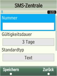Samsung F480-TouchWiz - SMS - Manuelle Konfiguration - Schritt 9