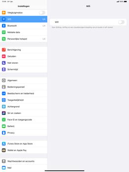 Apple ipad-pro-12-9-ipados-13 - WiFi - Verbinden met een netwerk - Stap 4