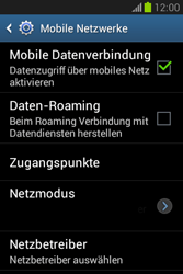 Samsung Galaxy Fame Lite - Internet und Datenroaming - Manuelle Konfiguration - Schritt 7
