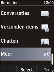 Nokia C2-05 - SMS - Handmatig instellen - Stap 4