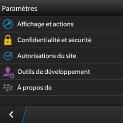 BlackBerry Q5 - Internet - configuration manuelle - Étape 17