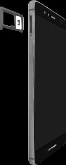 Huawei P9 - SIM-Karte - Einlegen - 2 / 2