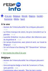 Nokia C7-00 - Internet - Sites web les plus populaires - Étape 6