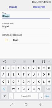 Samsung Galaxy A6 - Internet - navigation sur Internet - Étape 9