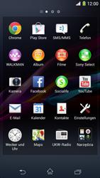 Sony Xperia Z1 - Internet und Datenroaming - Verwenden des Internets - Schritt 3