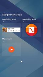 Samsung Galaxy A3 (2017) - Startanleitung - Installieren von Widgets und Apps auf der Startseite - Schritt 6