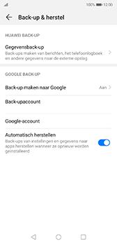 Huawei P20 - Android Pie - toestel resetten - back-up maken met jouw account - stap 10